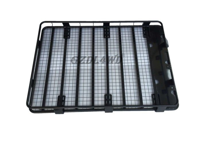 Çin 180*125*16cm Car Universal Roof Rack Basket Steel For Mitsubishi Pajero Fabrika