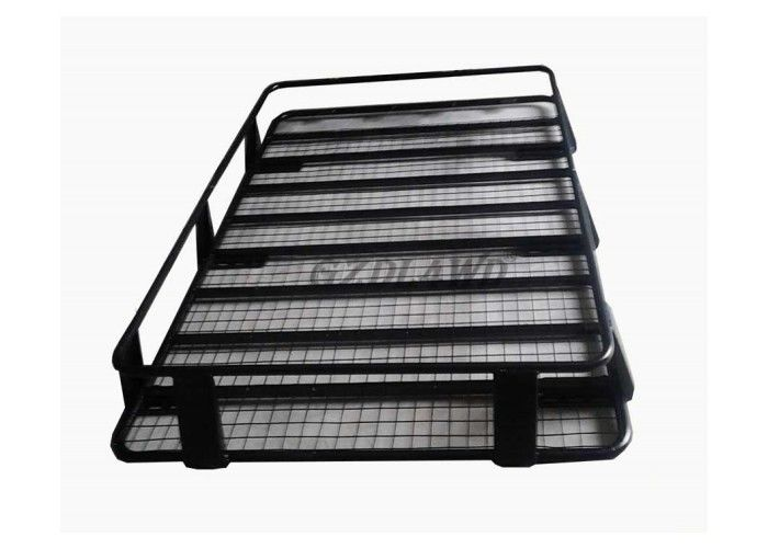 Çin 4X4 Universal Roof Rack Cargo Baskets Steel Material For Toyota Land Cruiser 80 Series Fabrika