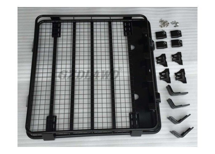 Black Steel Top Universal Roof Rack Heavy Duty For Cars Trucks SUV 1.25m