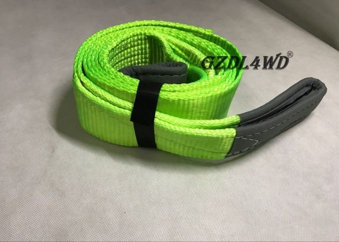 Çin OEM Logo 4x4 Off Road Accessories Recovery Kits Green With AA Grade Polyester Yarn Fabrika